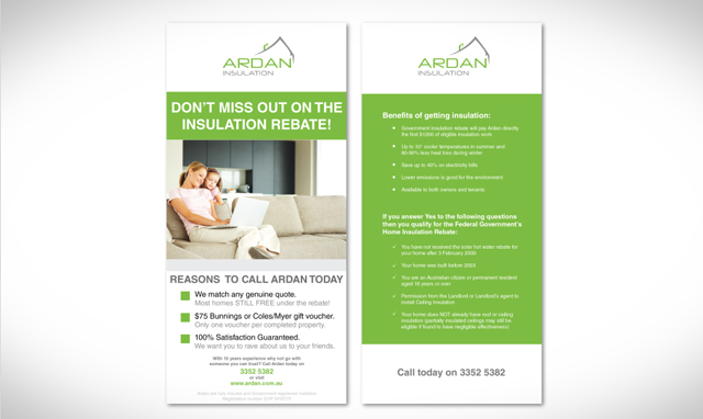 Ardan DL Flyer Design