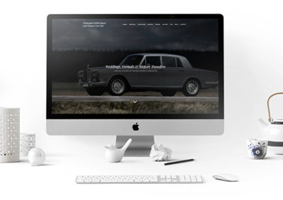 Champers Rolls-Royce and Classic Car Hire Website