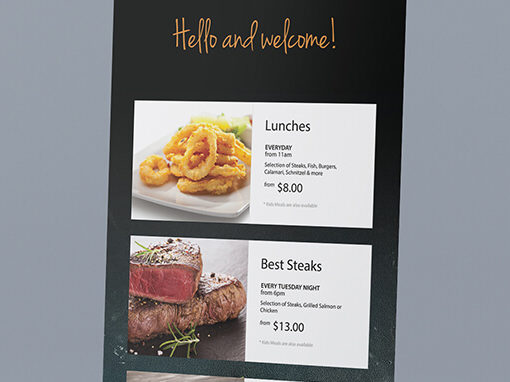 Bribie Island Golf Club Pull Up Banner